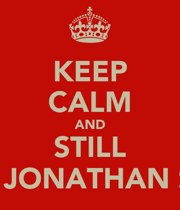 KEEP CALM AND STILL RICEK JONATHAN SUNGI
