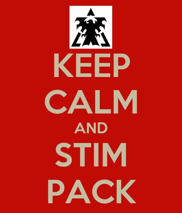 KEEP CALM AND STIM PACK