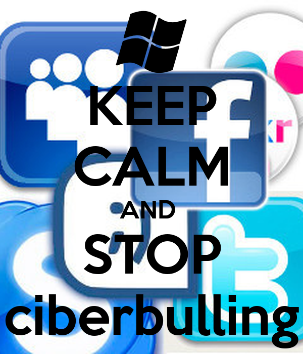 KEEP CALM AND  STOP ciberbulling