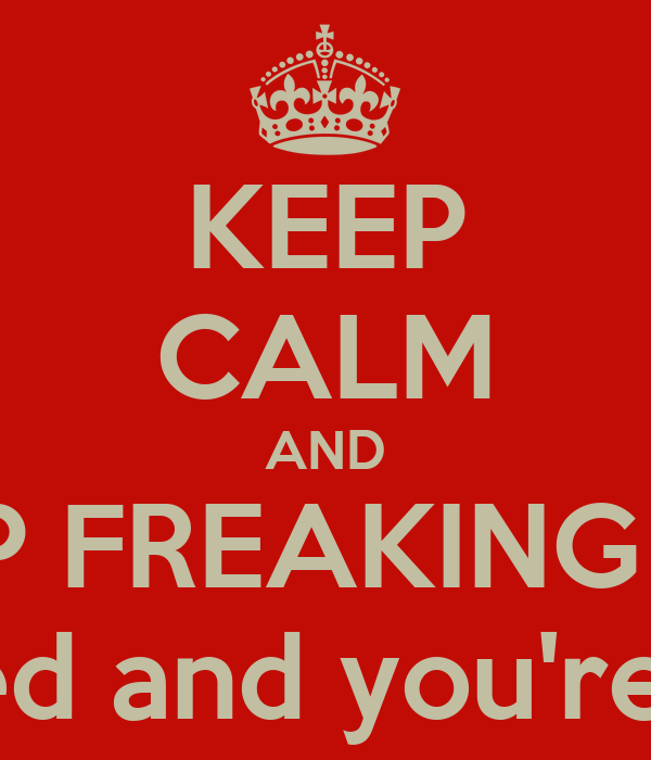 KEEP CALM AND STOP FREAKING OUT you definitely passed and you're going to graduate.