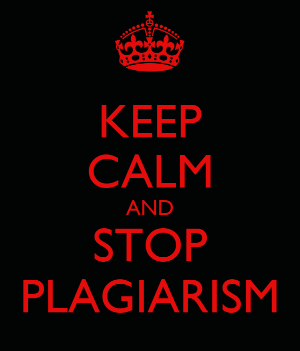 Plagiarism - What it is and how to avoid it