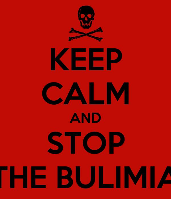 Výsledek obrázku pro stop bulimia