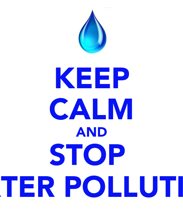 how to stop stop water pollution