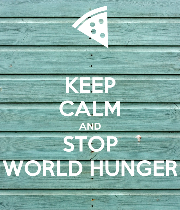 how to stop world hunger