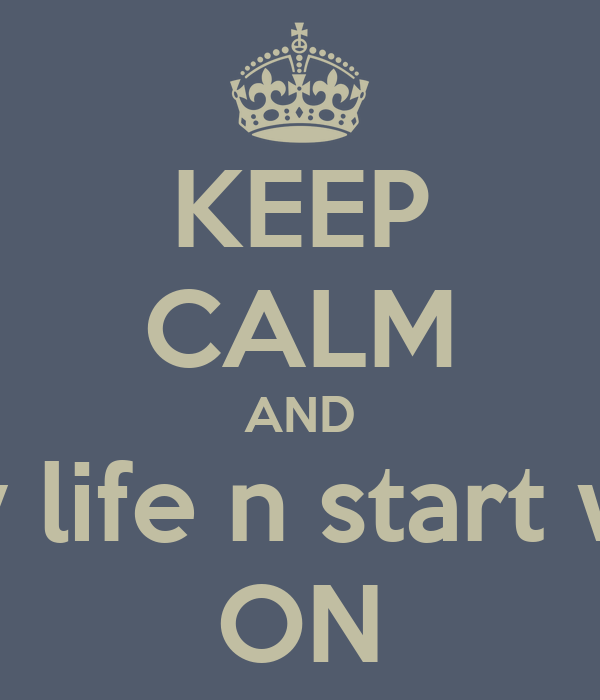 KEEP CALM AND Stop worry about my life n start worrying about yours ON