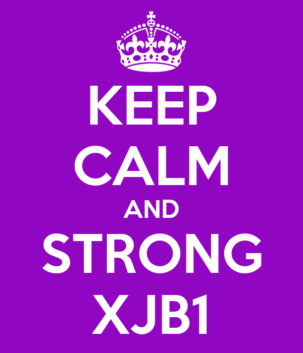 KEEP CALM AND STRONG XJB1