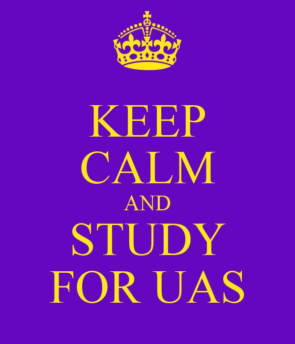 KEEP CALM AND STUDY FOR UAS