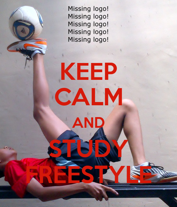 KEEP CALM AND STUDY FREESTYLE