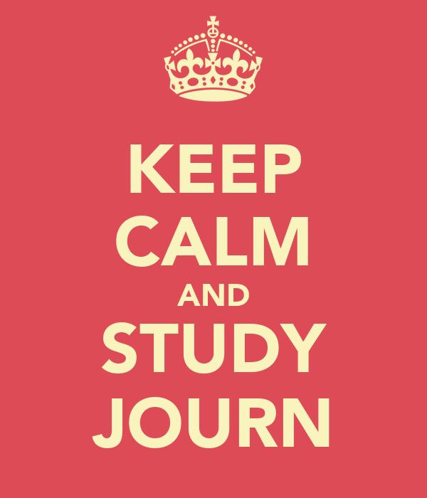 KEEP CALM AND STUDY JOURN