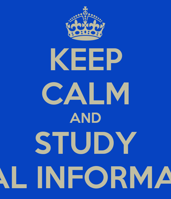 KEEP CALM AND STUDY LEGAL INFORMATICS