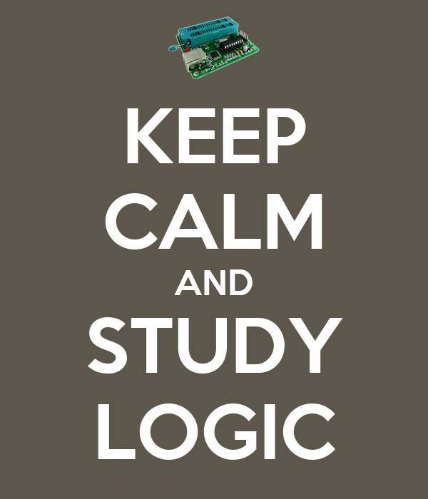 KEEP CALM AND STUDY LOGIC