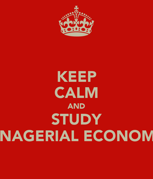 tg research managerial economic Finally, the course covers research methodologies useful for the course tiø4500  managerial economics and operations research, specialization project.