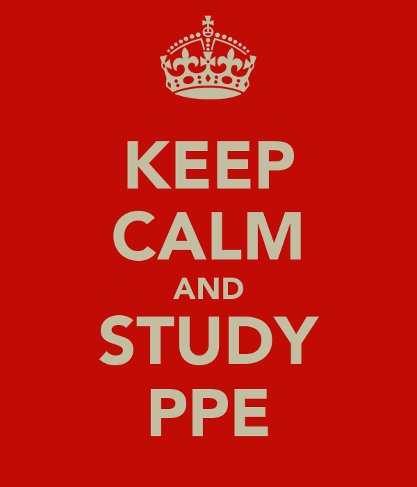 KEEP CALM AND STUDY PPE