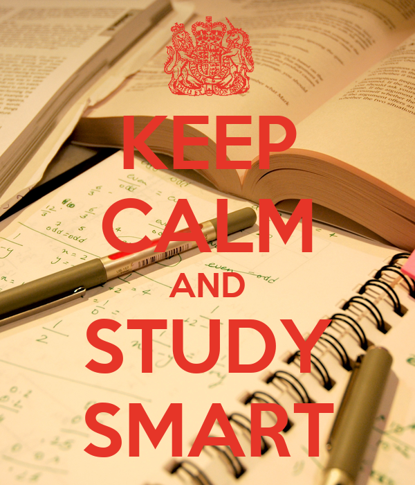 KEEP CALM AND STUDY SMART Poster | Syafiq Latif | Keep ...
