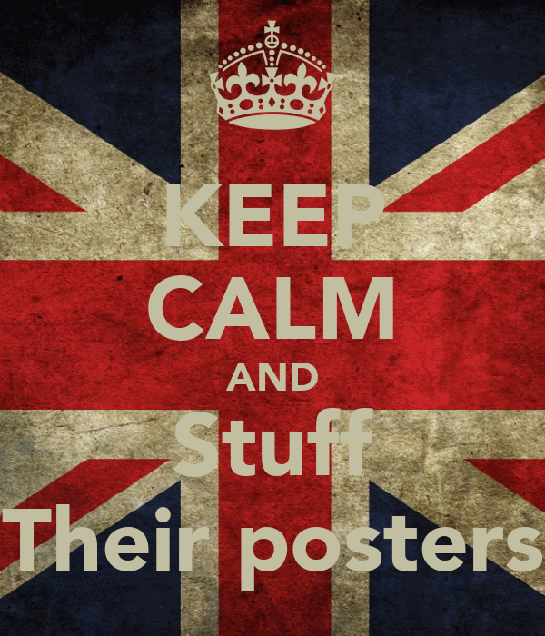 KEEP CALM AND Stuff Their posters
