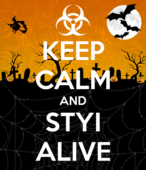 KEEP CALM AND STYI ALIVE