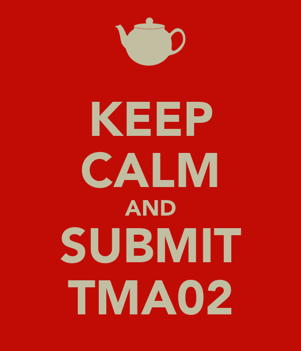 KEEP CALM AND SUBMIT TMA02