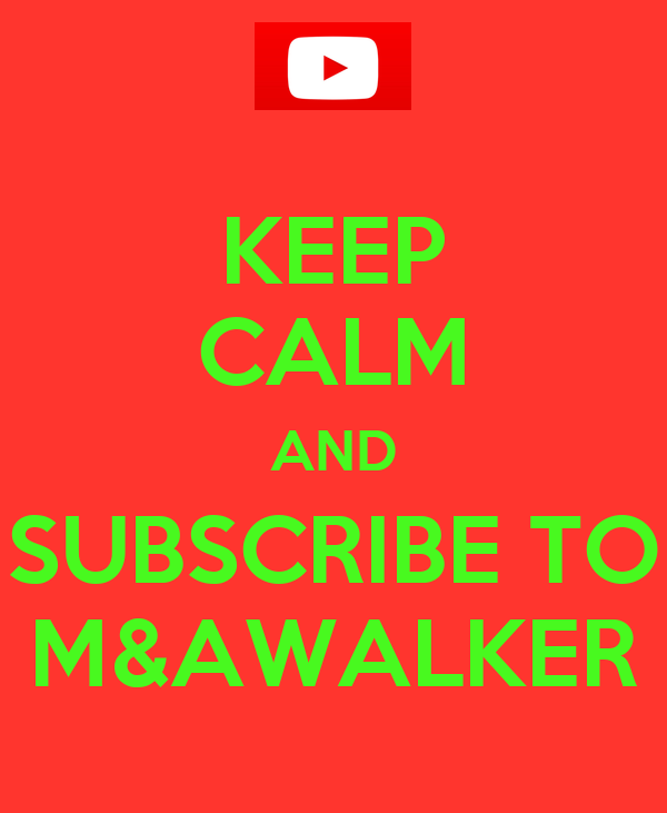 KEEP CALM AND SUBSCRIBE TO M&AWALKER