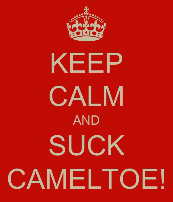 KEEP CALM AND SUCK CAMELTOE!