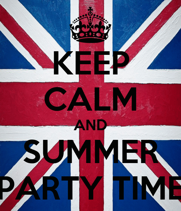 KEEP CALM AND SUMMER PARTY TIME