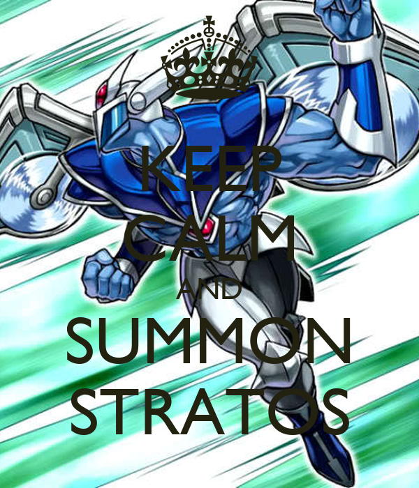 KEEP CALM AND SUMMON STRATOS