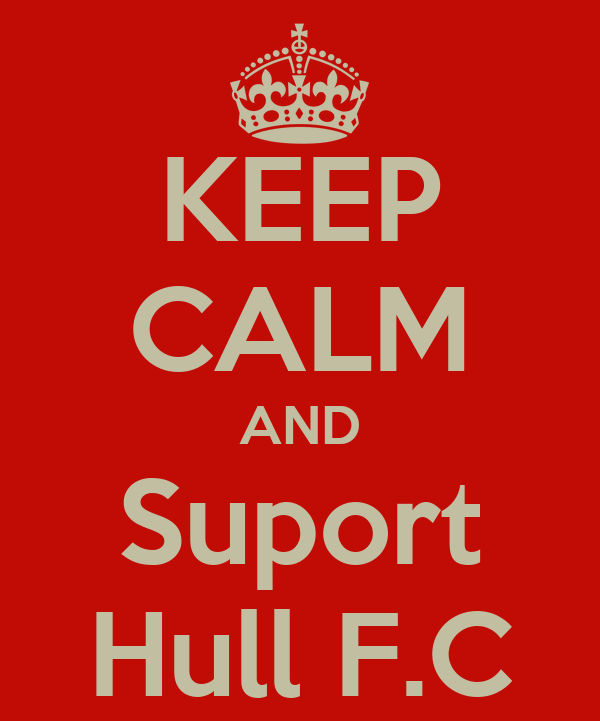 KEEP CALM AND Suport Hull F.C