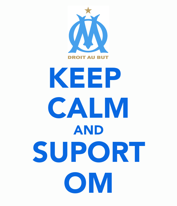 KEEP  CALM AND SUPORT OM