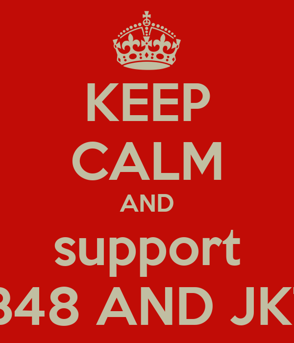 KEEP CALM AND support AKB48 AND JKT48