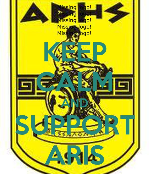 KEEP CALM AND SUPPORT ARIS