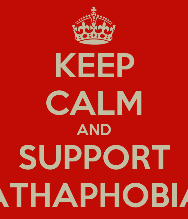 KEEP CALM AND SUPPORT ATHAPHOBIA