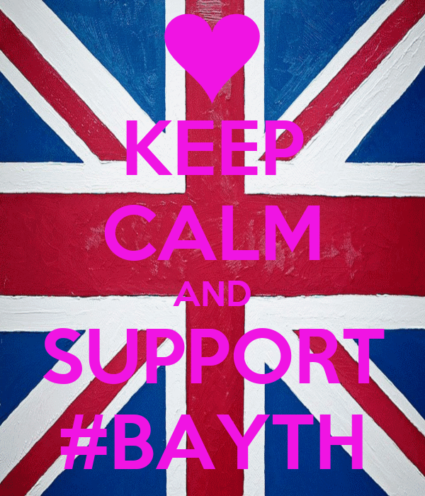 KEEP CALM AND SUPPORT #BAYTH