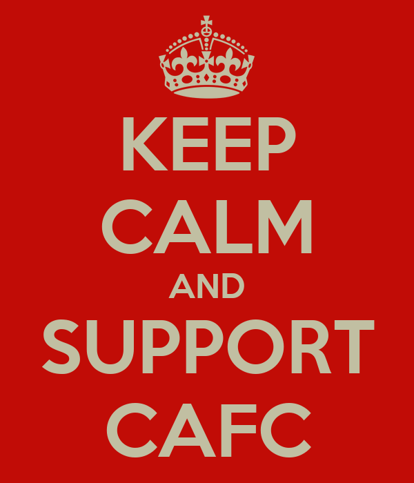 KEEP CALM AND SUPPORT CAFC
