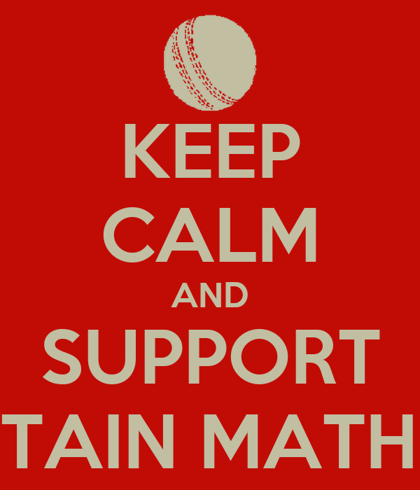 KEEP CALM AND SUPPORT CAPTAIN MATHEWS