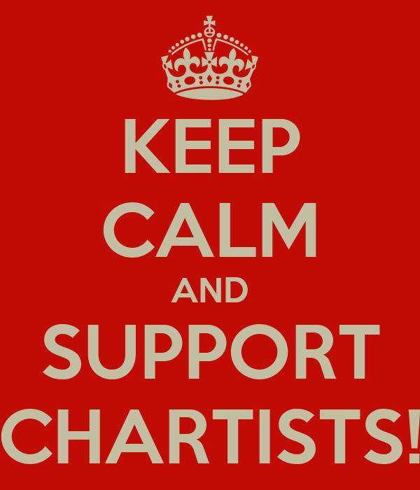 KEEP CALM AND SUPPORT CHARTISTS!
