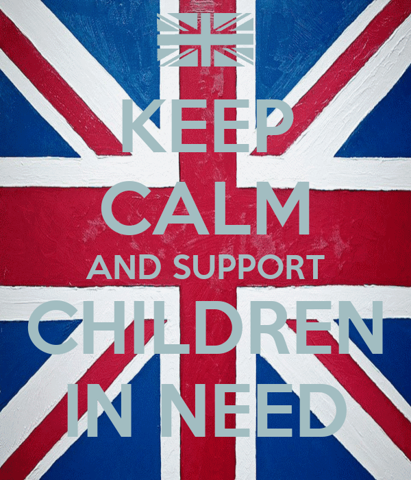 KEEP CALM AND SUPPORT CHILDREN IN NEED