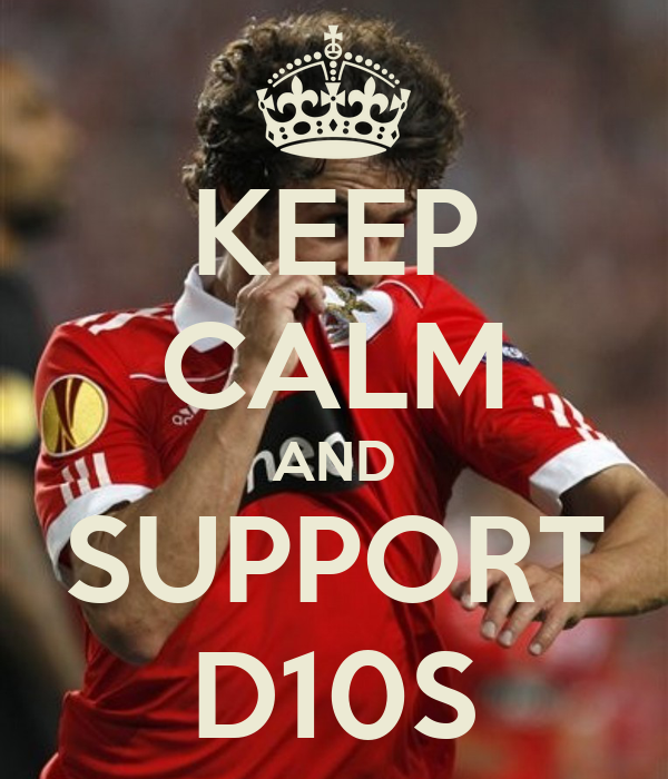 KEEP CALM AND SUPPORT D10S