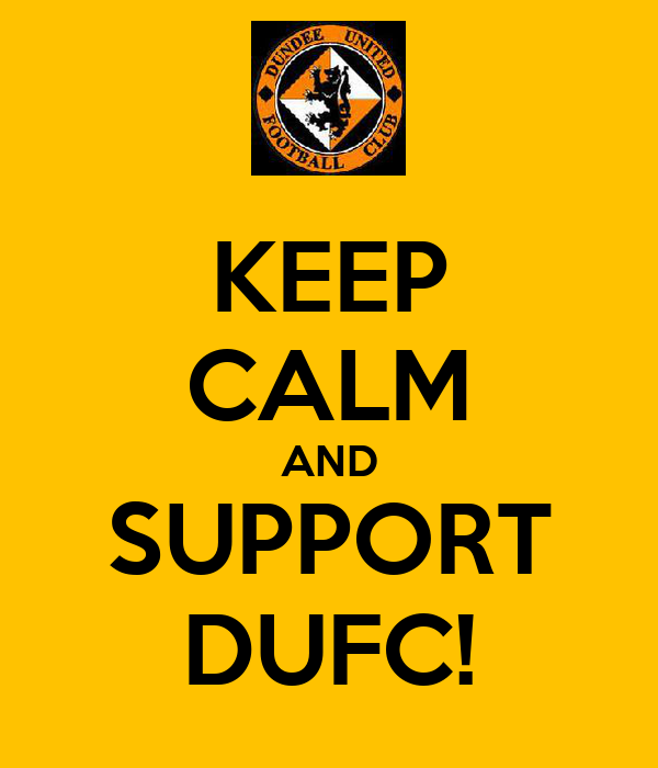 KEEP CALM AND SUPPORT DUFC!