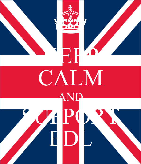 KEEP CALM AND SUPPORT EDL