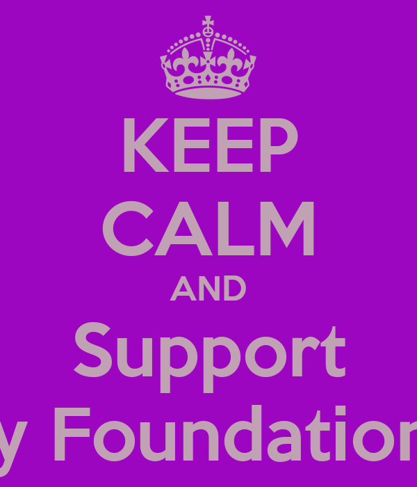 KEEP CALM AND Support Epilepsy Foundation of MS