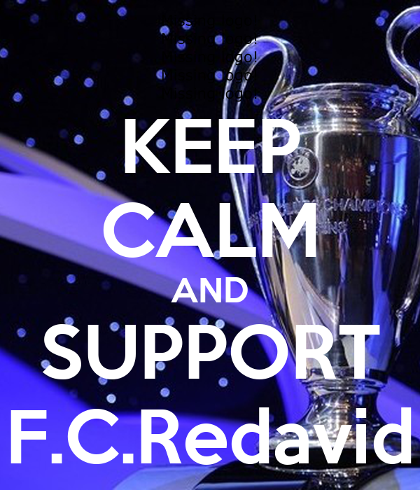 KEEP CALM AND SUPPORT F.C.Redavid