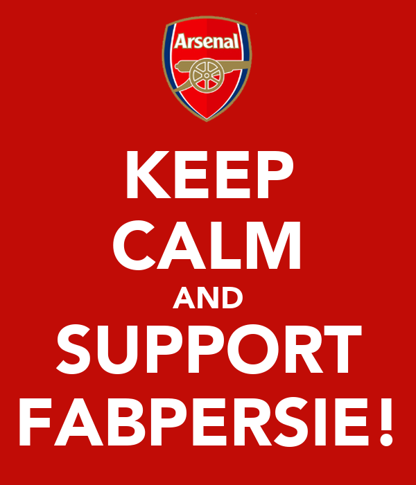 KEEP CALM AND SUPPORT FABPERSIE!
