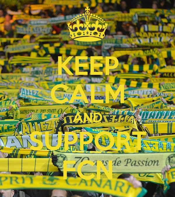 KEEP CALM AND SUPPORT FCN