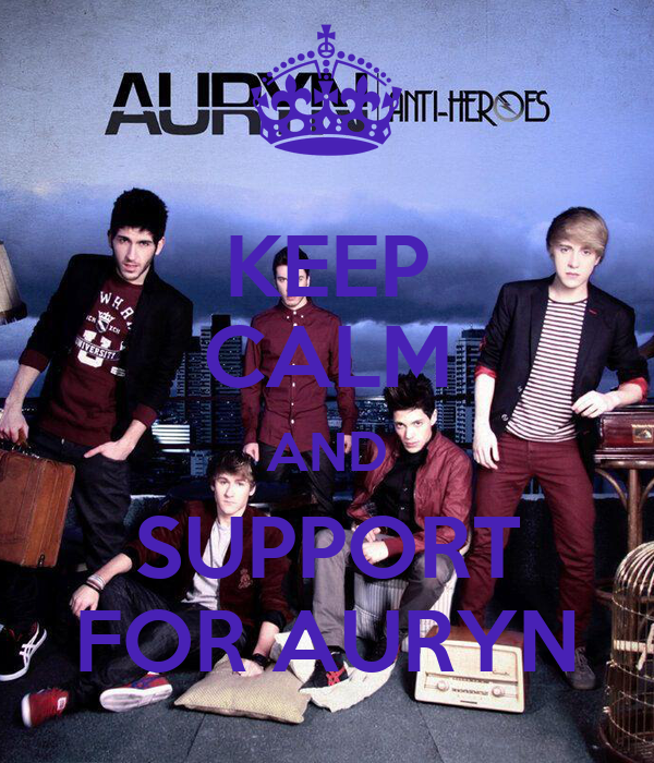 KEEP CALM AND SUPPORT FOR AURYN