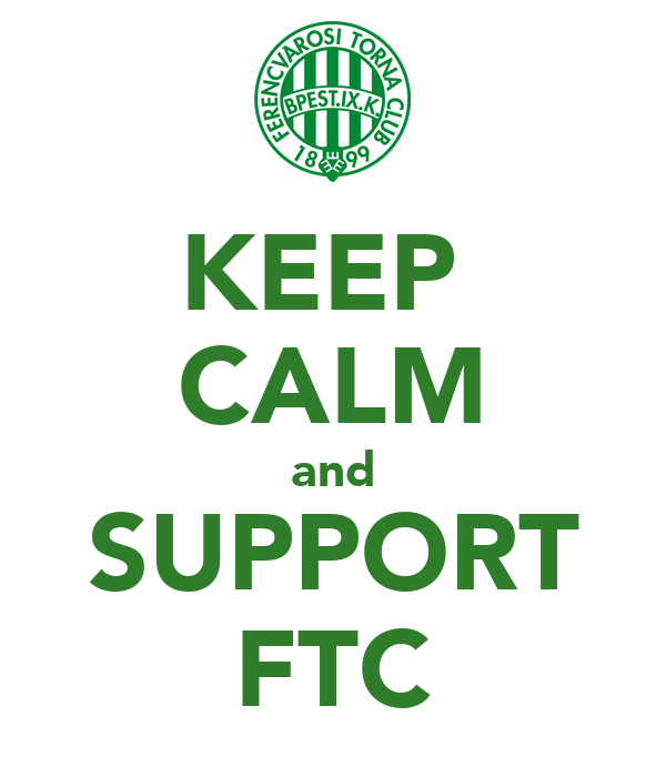 KEEP  CALM and SUPPORT FTC