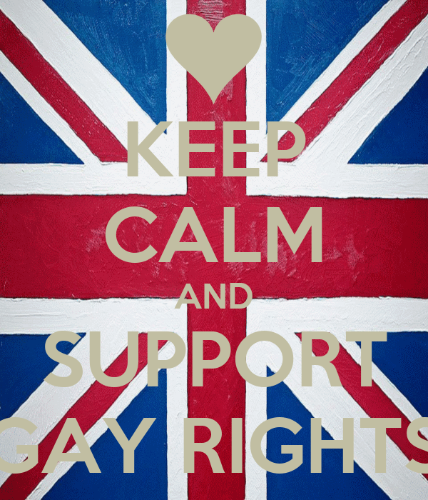 KEEP CALM AND SUPPORT GAY RIGHTS
