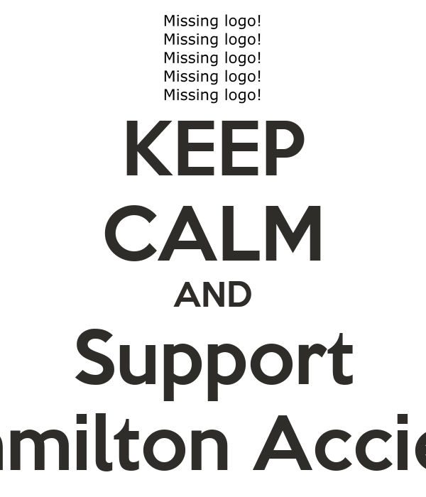 KEEP CALM AND Support Hamilton Accies!