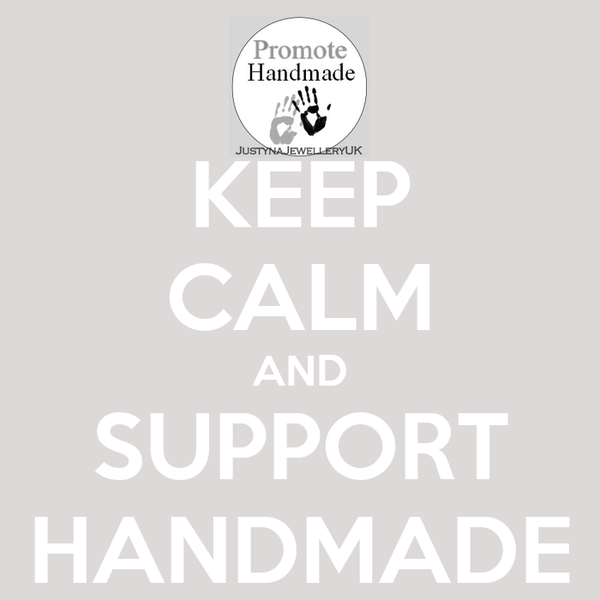 KEEP CALM AND SUPPORT HANDMADE