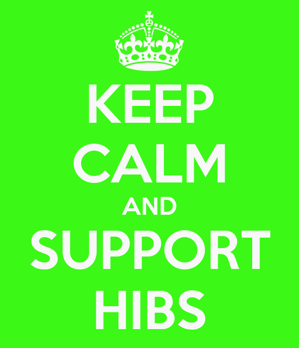 KEEP CALM AND SUPPORT HIBS