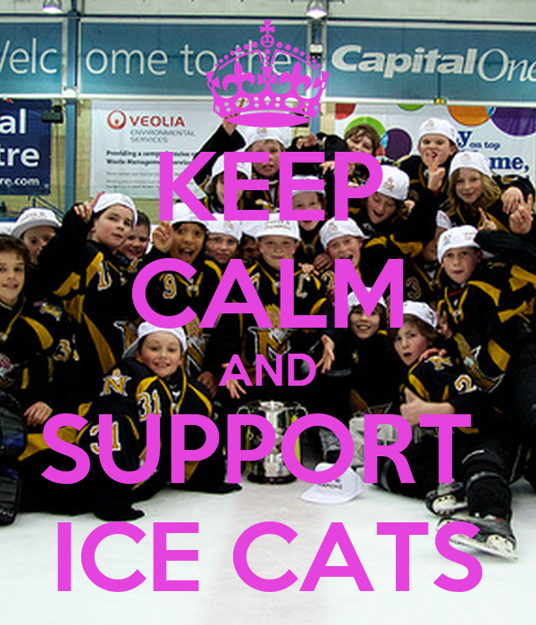 KEEP CALM AND SUPPORT  ICE CATS