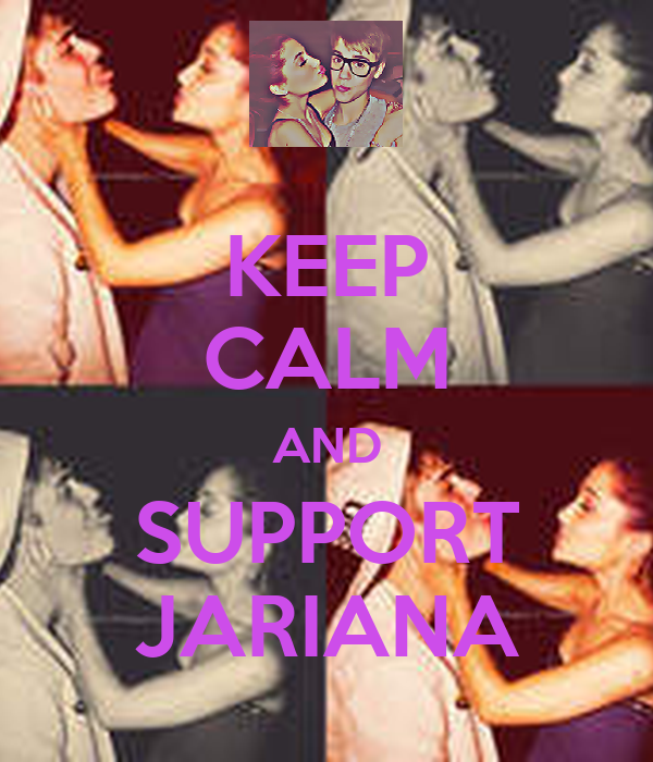 KEEP CALM AND SUPPORT JARIANA
